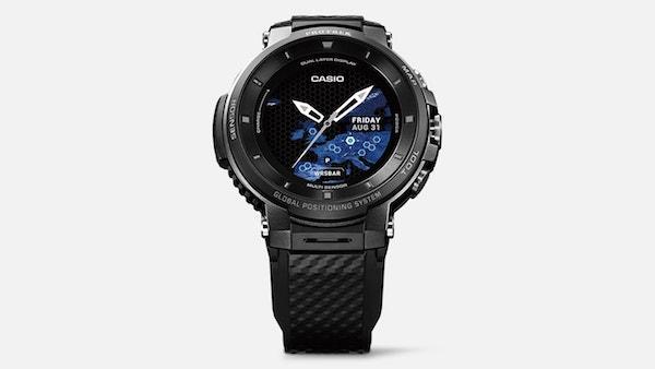 Casio увеличит время автономной работы своих смарт-часов