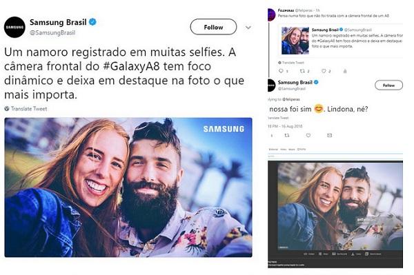 Samsung попалась на использовании профессиональных фото в рекламе своих смартфонов