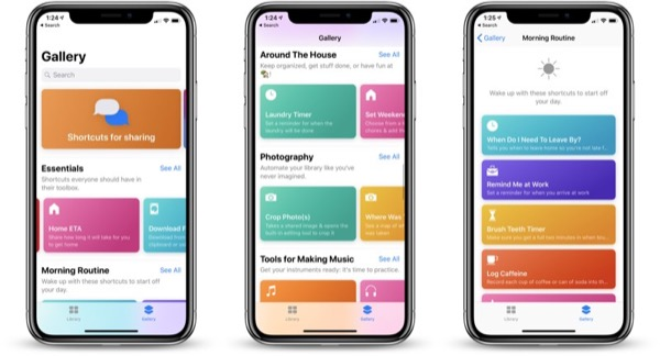 Apple выпустила Shortcuts beta 4
