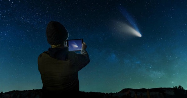 Как наблюдать за метеоритным потоком Персеиды с помощью iPhone
