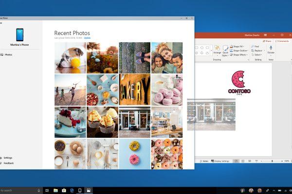 Windows 10 научилась получать файлы со смартфонов