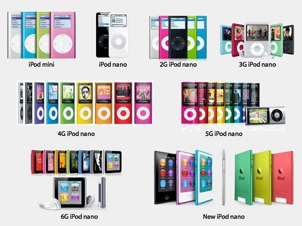 С днём рождения, iPod nano