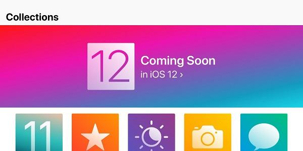 Apple рекламирует iOS 12 через приложение «Советы»