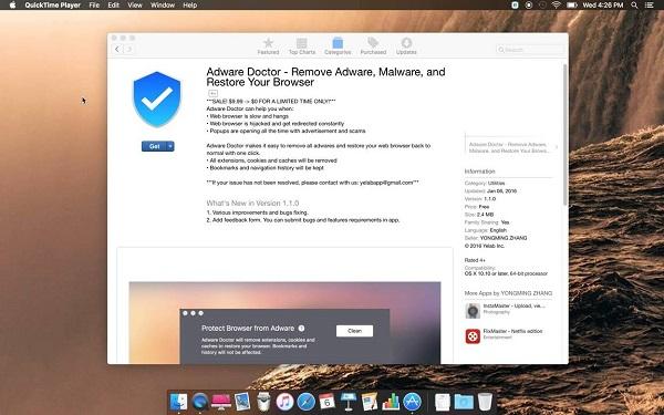 Анти-рекламное ПО №1 из Mac App Store ворует данные пользователей