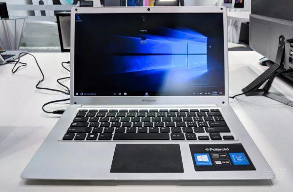 Polaroid представила дешевые ноутбуки, похожие на MacBook Pro