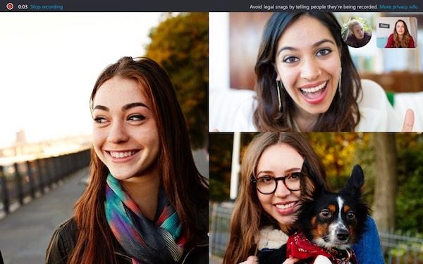 Звонки в Skype теперь можно записывать
