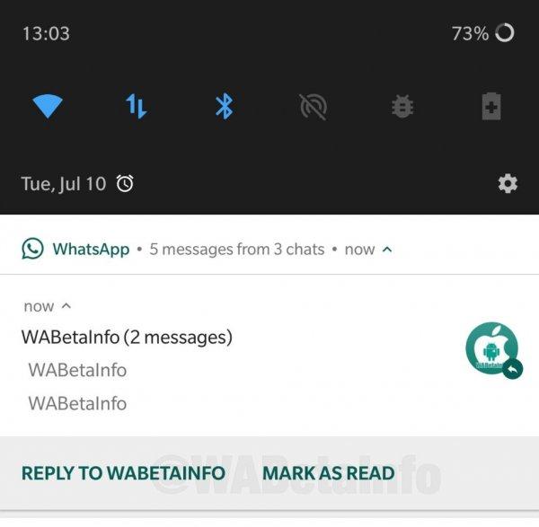 WhatsApp вводит новую опцию для сообщений